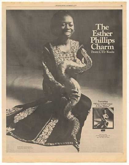Esther Phillips What A Diff'rence Photo (1975)