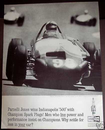 Champion Spark Plugs Parnelli Jones (1963)