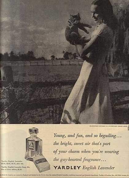 Yardley's English Lavender (1948)