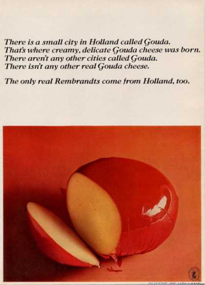 Gouda Holland Cheese (1964)