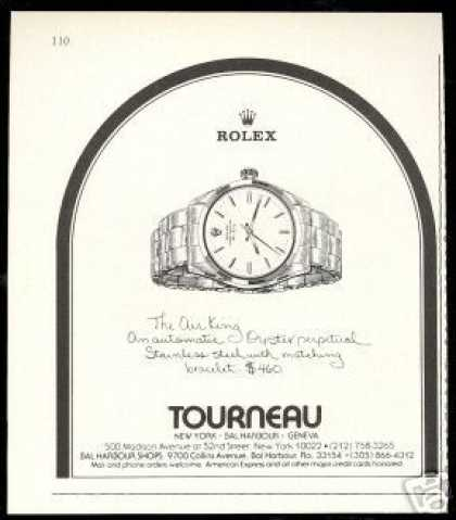 Rolex Air King Watch Tourneau (1978)