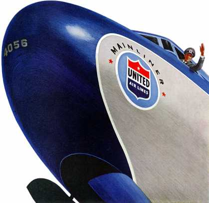United Air Lines Mainliner (1952)