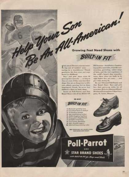 Poll Parrot Boys and Girls Shoes (1942)