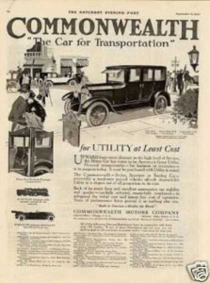 Commonwealth Car (1920)