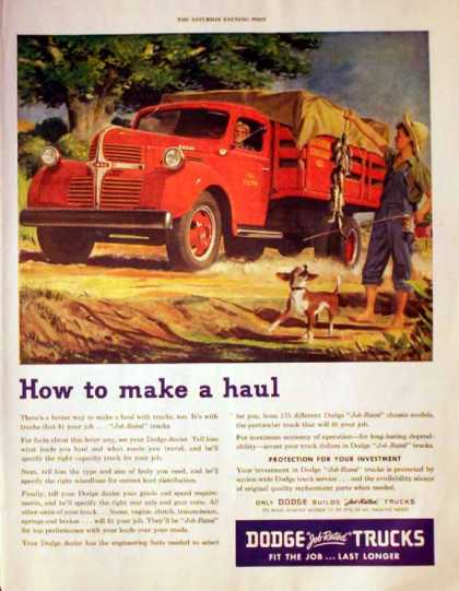 Dodge Trucks – How to make a haul – Sold (1947)