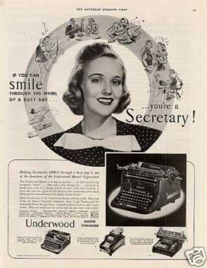 Underwood Typewriter (1939)