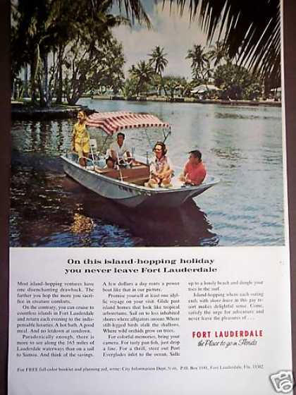 Fort Lauderdale Island Hopping Travel Vacation (1971)