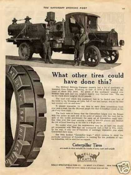 Caterpillar Tires (1922)
