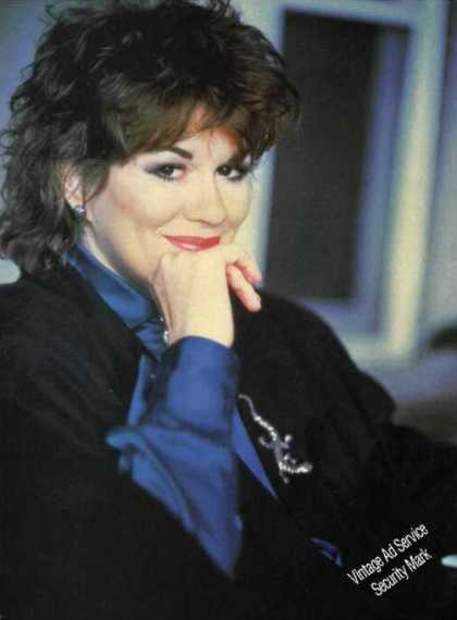 Nice K T Oslin Photo Magazine Print Feature (1990)