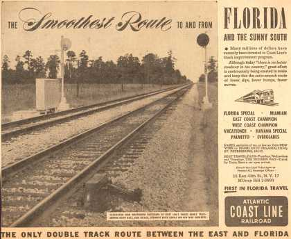 Atlantic Coast Line Railroad's Atlantic Coast Line – The Smoothest Route (1953)