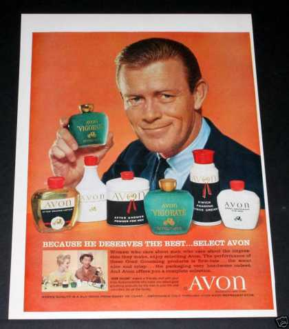Old , Avon, Vigorate for Men (1960)