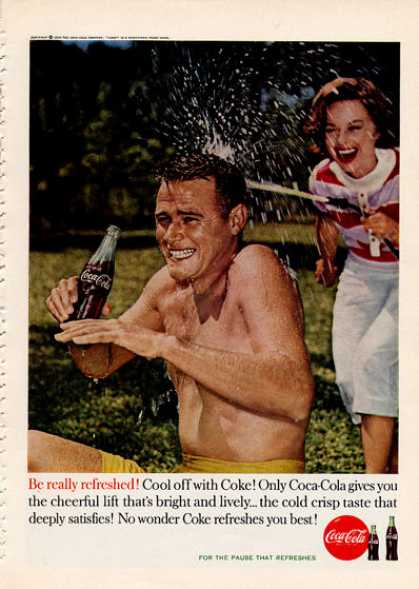 Coke Coca Cola Swimming Pool (1960)