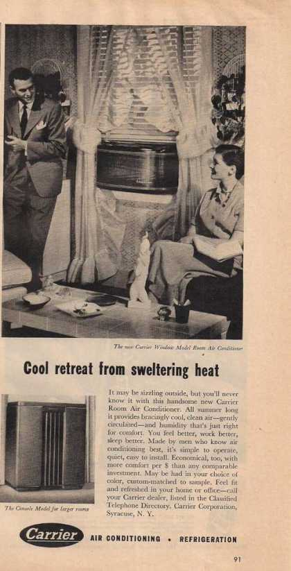 Carrier Window Air Conditione (1950)