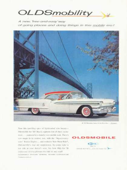 Oldsmobile Olds Ninety Eight 98 (1958)