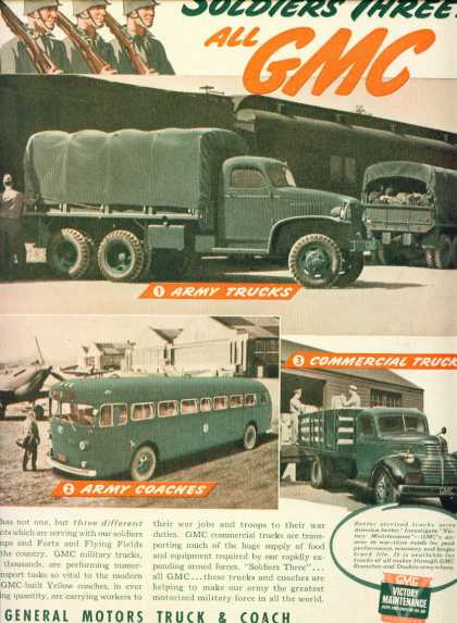 General Motors Military Trucks World War Ii C (1943)