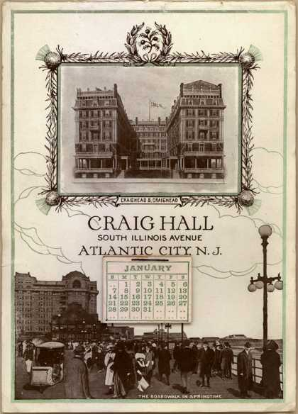Craighead and Craighead's hotel – Craig Hall
