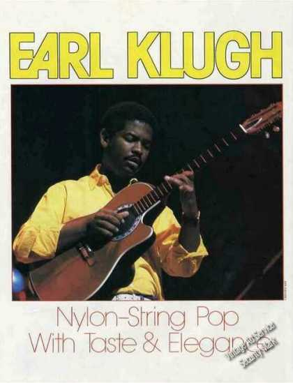 Earl Klugh Collectible Magazine Photo (1985)