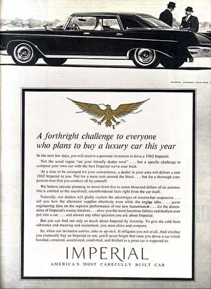 Chrysler's Imperial (1961)