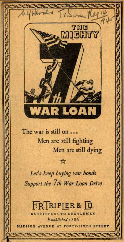 F. R. Tripler & Co.'s 7th War Loan – The Mighty 7th War Loan (1945)