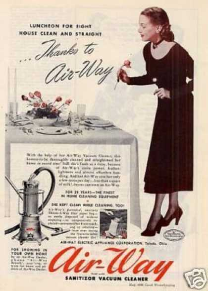 Air-way Vacuum Cleaner (1948)