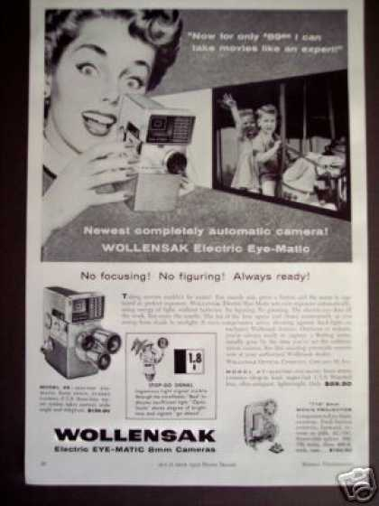 Wollensak Eye-matic 8mm Movie Camera (1959)