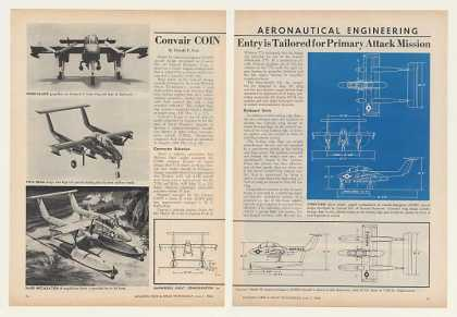 Convair COIN Model 48 Aircraft 6-Page Article (1964)