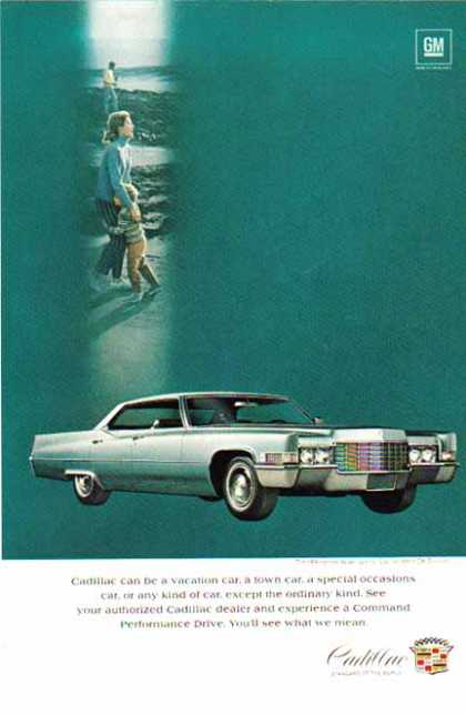Cadillac Car – Sedan Deville Hardtop' – Sold (1969)