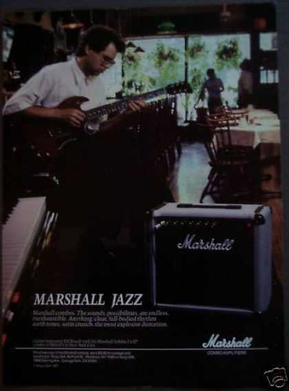 Marshall Amplifiers Bill Frisell Music (1988)