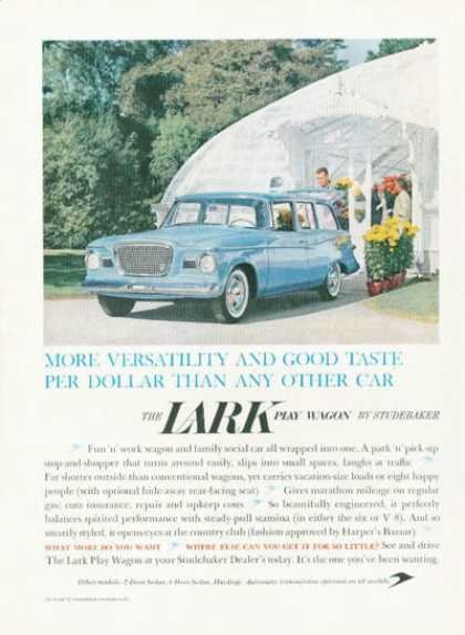 Studebaker Lark Wagon Greehouse (1959)
