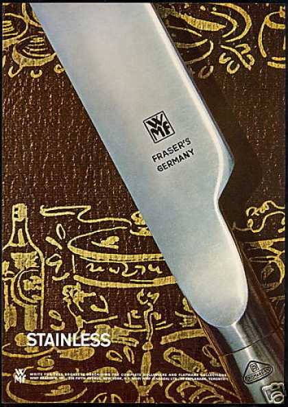 WMF Fraser Stainless Holloware Flatware Photo (1967)