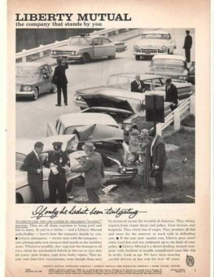 '61 Liberty Mutual Insurance Tailgating Car Accident (1961)
