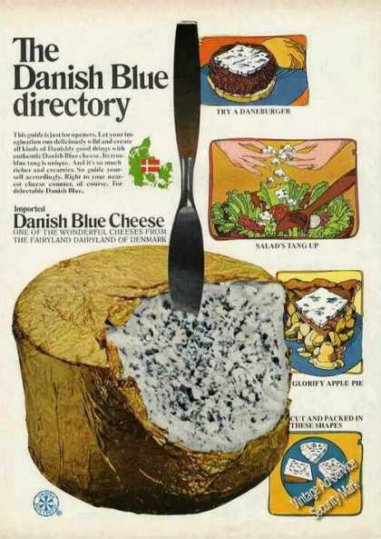 "Danish Blue Cheese ""Fairyland Dairyland"" (1970)"
