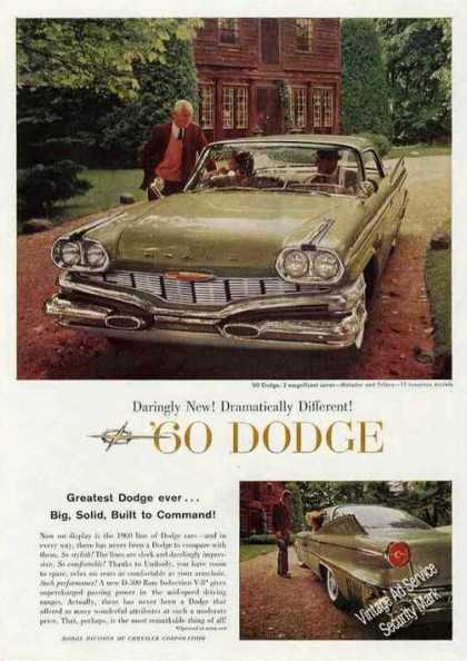 Dodge Photos Car (1960)