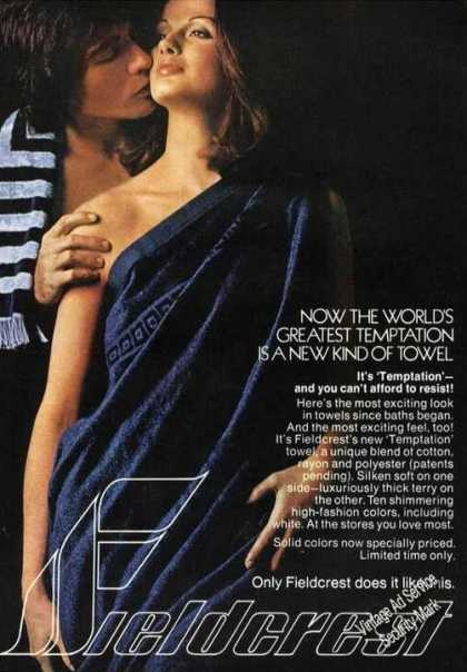 Worlds Greatest Temptation Fieldcrest Towels (1973)