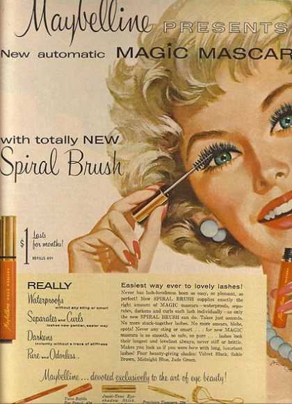 Maybelline's Magic Mascara (1959)