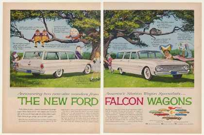 Alice in Wonderland Ford Falcon Wagons (1960)