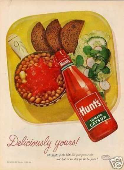 Hunt's Tomato Ketchup (1952)