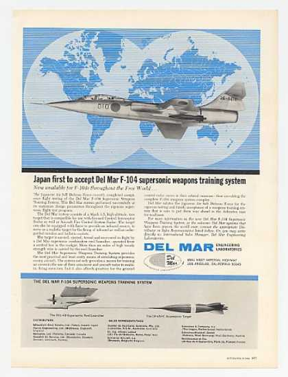 Del Mar F-104 Supersonic Weapons Training Sys (1964)