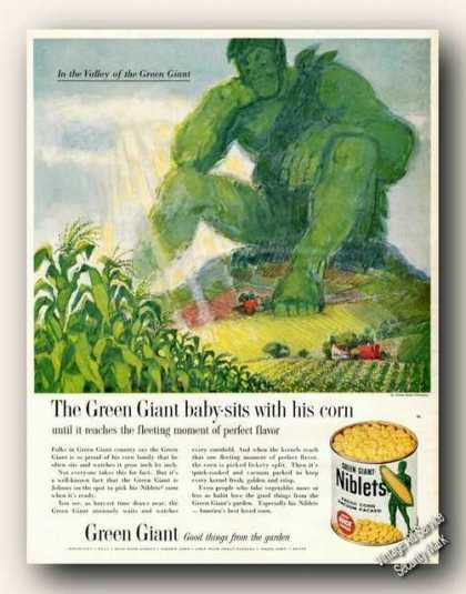 Green Giant Art Niblets (1961)