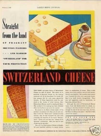 Switzerland Cheese (1931)
