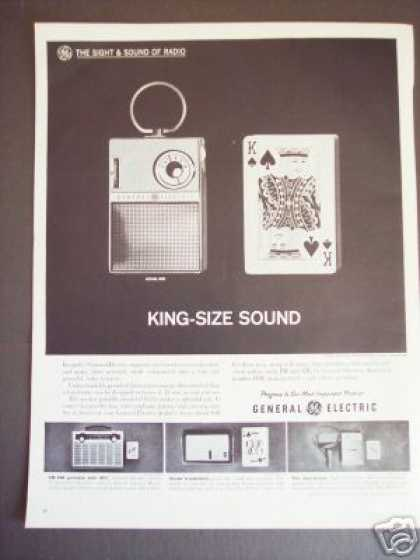 Transistor Radio P-8523 Ge General Electric (1962)