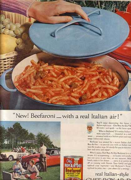 Chef Boy-Ar-Dee&#8217;s Beefaroni (1957)