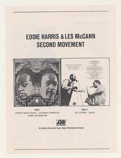 Eddie Harris Les McCann Second Movement (1971)