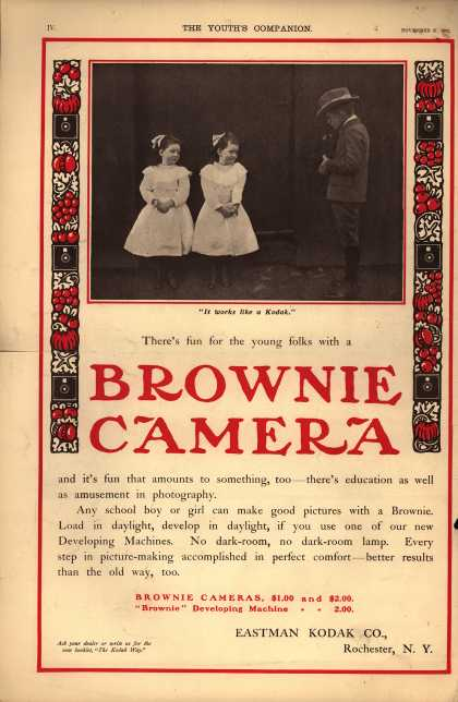 Kodak's Brownie cameras – Brownie Camera (1902)