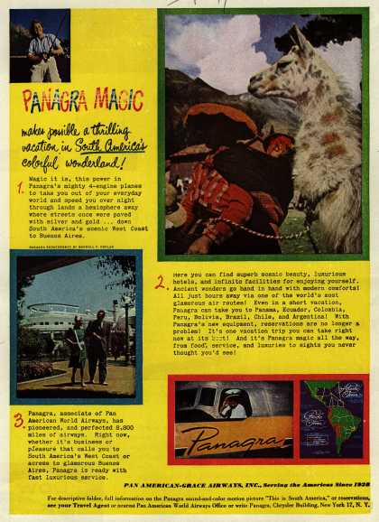 Pan American Grace Airway's South America – Panagra Magic (1947)