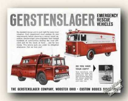 Gerstenslager Emergency Rescue Vehicles (1959)