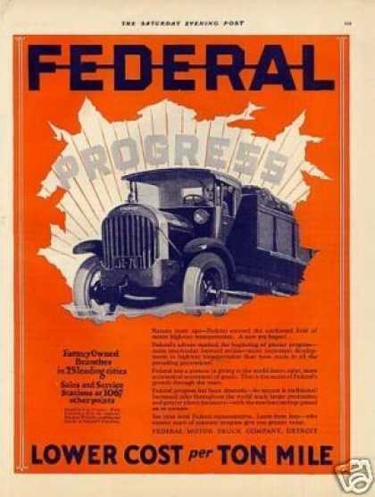 Federal Truck Color (1926)