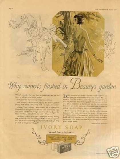 "Ivory Soap Ad ""Why Swords Flashed... (1926)"