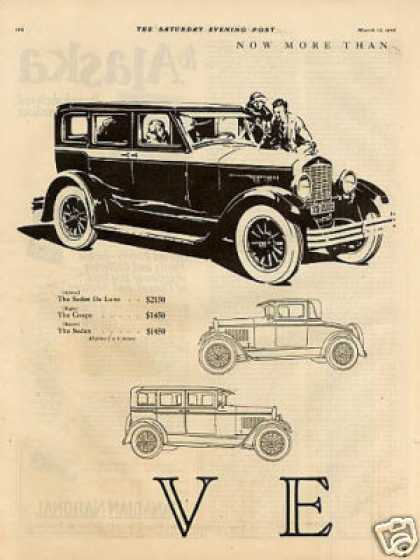 Velie Car Ad 2 Page (1926)