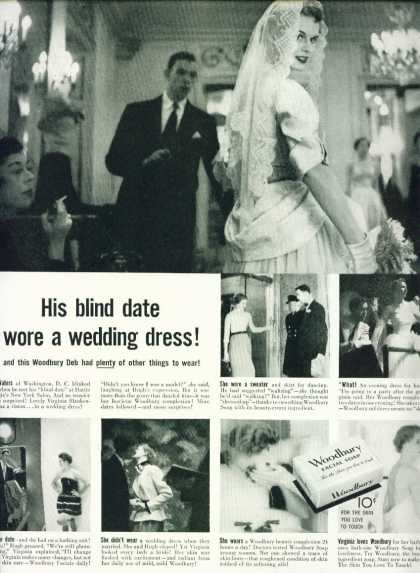 Woodbury Facial Soap Hugh Waters Blind Date C (1953)